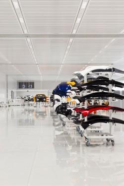 McLaren - Centrul de productie