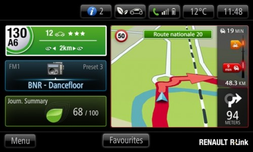 Renault tableta R-Link