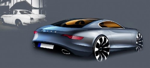 Volvo P1800 future concept