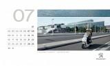 calendar peugeot 2012