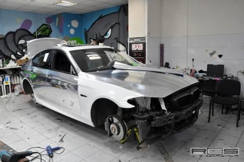 BMW seria 5 M sport verde
