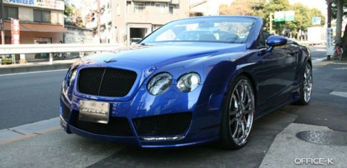 bentley gtc office k