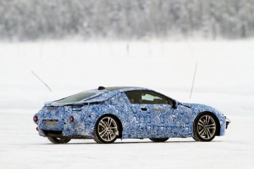 BMW i8 spionat
