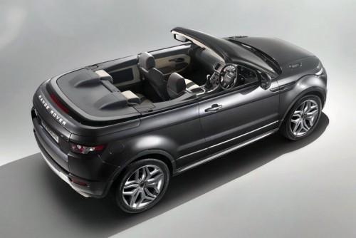 Range Rover Evoque Convertible Concept