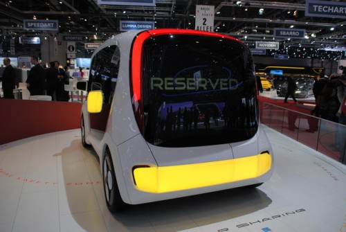Light Car Sharing Concept