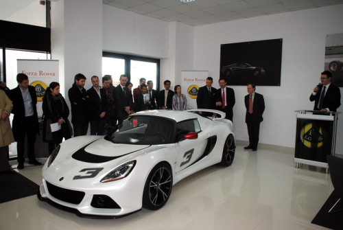 Lansare Lotus Exige S in Romania
