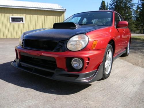Subaru WRX pe senile