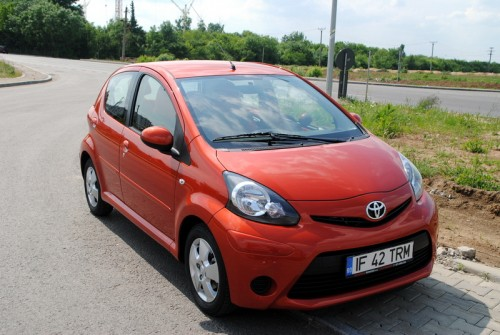 Toyota Aygo facelift