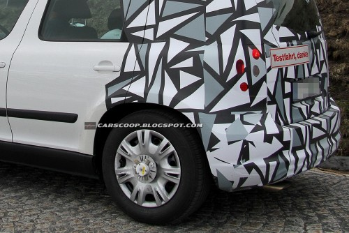 Skoda Yeti Facelift 2013