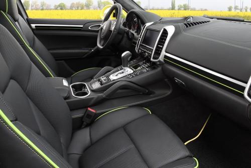 Porsche Cayenne Lemon