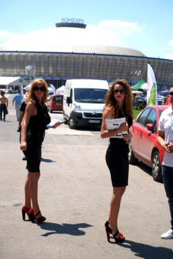 fetele de la Bucharest Wheels Arena 2012