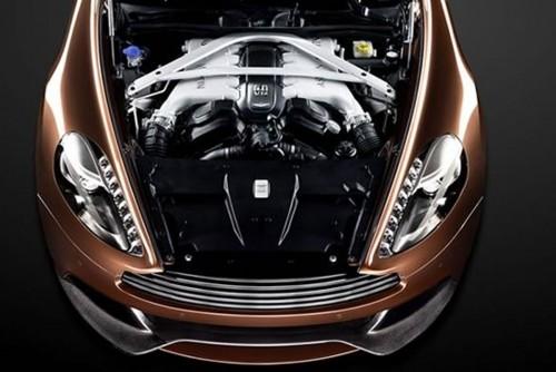 Aston Martin Vanquish - Imagini oficiale
