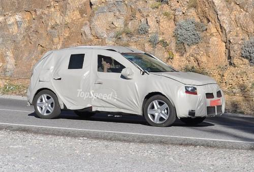 Dacia Logan 2 - Imagini spion