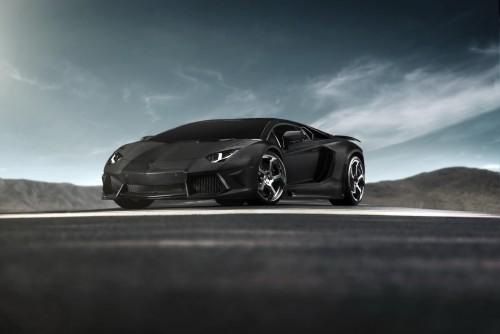 Tuning Lamborghini Aventador by Mansory