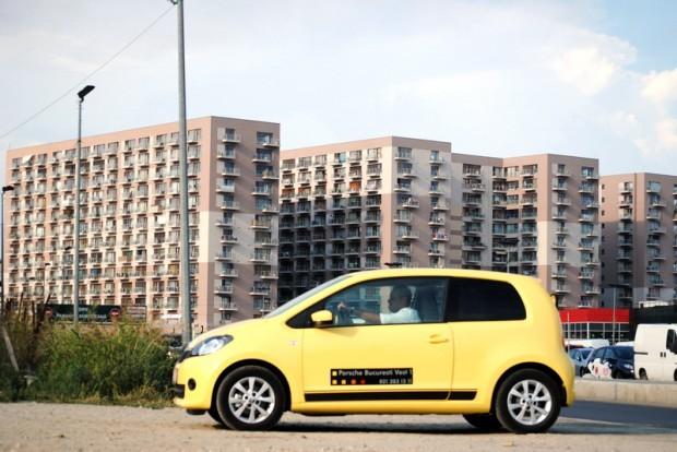 Skoda Citigo, cel mai nou vehicul din clasa A00 face cunostinta cu publicul roman.