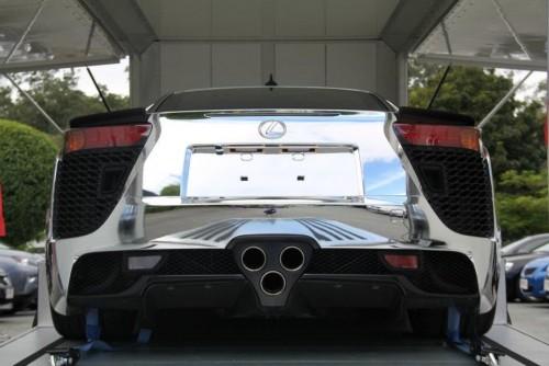 Lexus LFA cromat