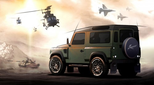 Land Rover Defender Kahn 2012