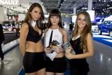 Fetele de la Salonul Auto Moscova