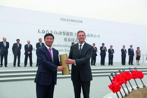 Fabrica VW in China