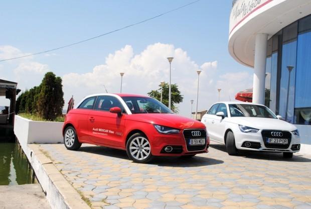 Audi A1, fashion itemul destinat sa se bata cu MINI Cooper, Fiat 500 si mai nou cu Opel Adam, imbatraneste discret.