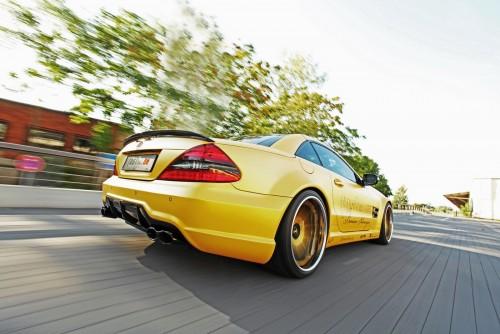 Mercedes SL55 AMG Tuning