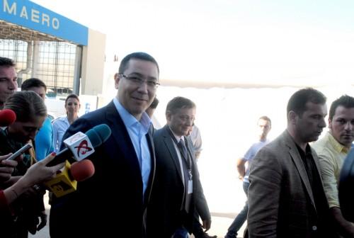 Victor Ponta la SAB&A