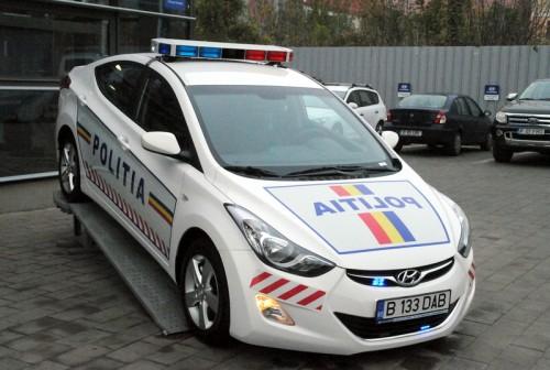 Politia Ilfov primeste un Hyundai Elantra