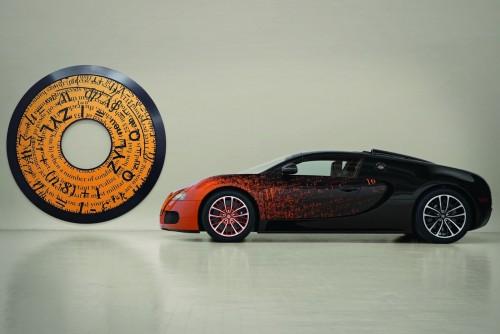 Bugatti Veyron Grand Sport Bernar Venet