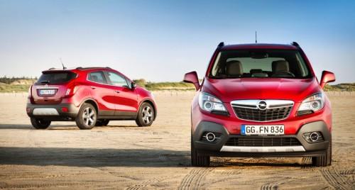 Modele Opel 2012