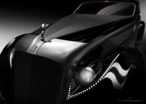 Rolls-Royce Phantom I Aerodynamic Coupe
