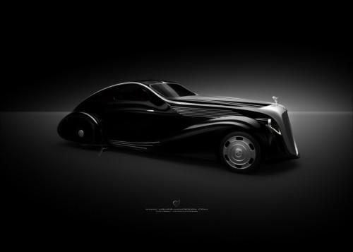 Rolls-Royce Phantom I Aerodynamic Coupe