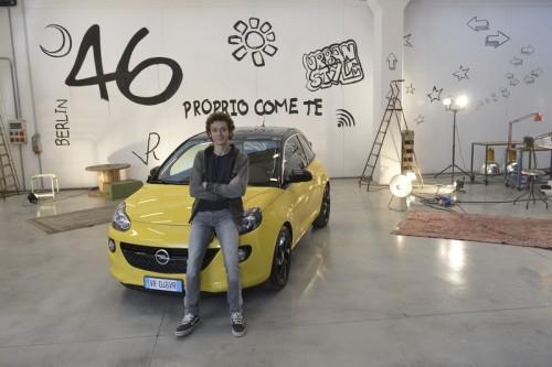 Valentino Rossi Opel ADAM