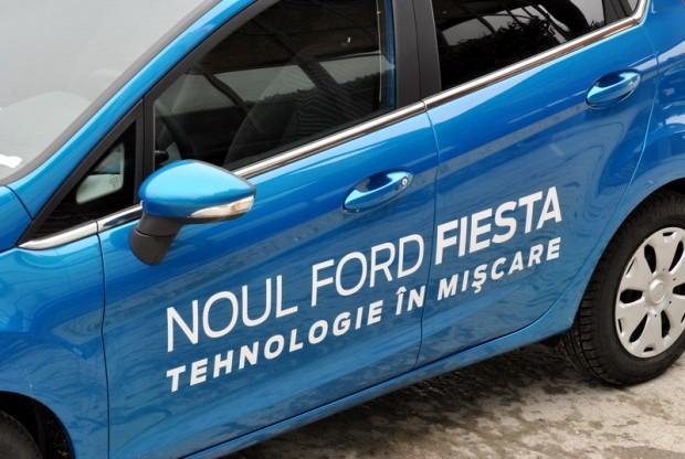 Drive test de prim contact cu noul Ford Fiesta 1.0 EcoBoost 100 CP.