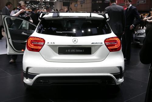 Geneva 2013: Mercedes-Benz A45 AMG