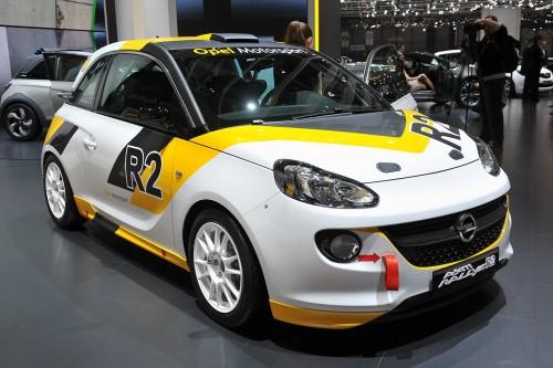 Geneva 2013 - Opel Adam Rally R2