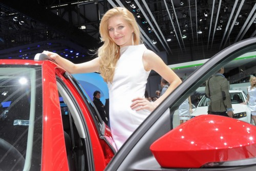 Fetele de la Salonul Auto Geneva 2013 (Prima parte)