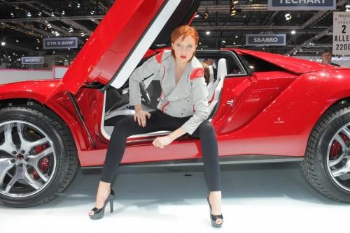 Fetele de la Salonul Auto Geneva 2013 (A doua parte)