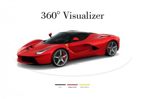 LaFerrari visualizer