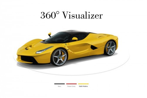 LaFerrari visualizer