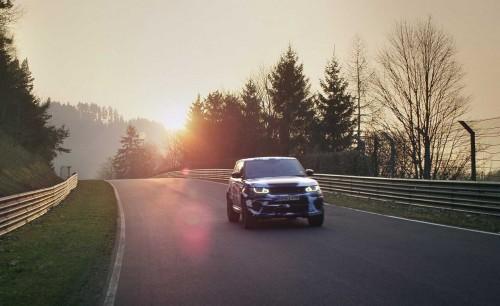 Range Rover SVR, prezentat la Goodwood Festival of Speed