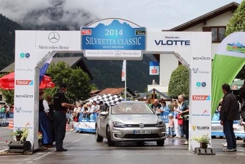 Dublă victorie Volkswagen la Raliul Silvretta