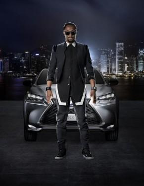 Campanie de lansare Lexus NX cu will.i.am