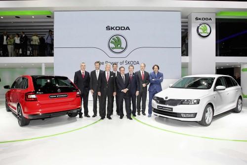 Record de vânzări ŠKODA în prima jumătate a anului 2014
