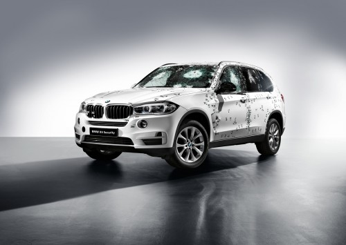 Noul model blindat BMW X5 Security Plus