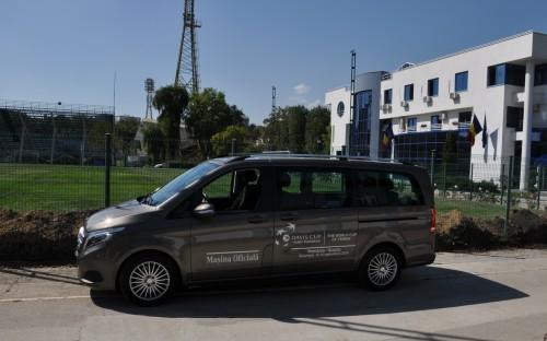 Mercedes-Benz a fost Maşina Oficială la Cupa Davis