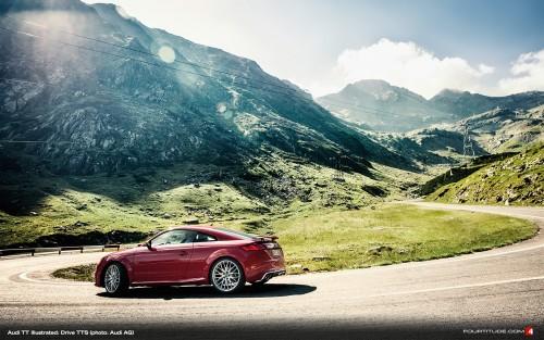 TT Ilustrated: fotografii cu noul Audi TT în România