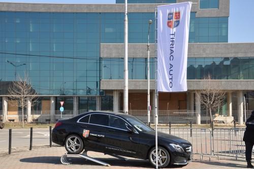 Mercedes-Benz a fost Maşina Oficială a întȃlnirii de Cupa Davis dintre Romȃnia şi Israel