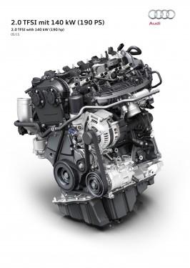 Premieră la Vienna Motor Symposium: noul 2.0 TFSI de la Audi
