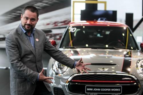 MINI John Cooper  Works F56, lansat în România