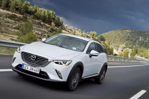 Noua Mazda CX-3 a ajuns în România